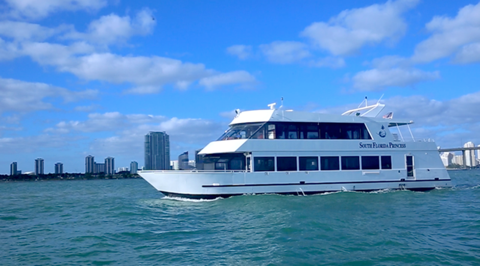 Introducing The Newest Addition To Our Fleet South Florida Princess Thinking Of Having A Holiday Celebration Trade Show Or Awards Presentation